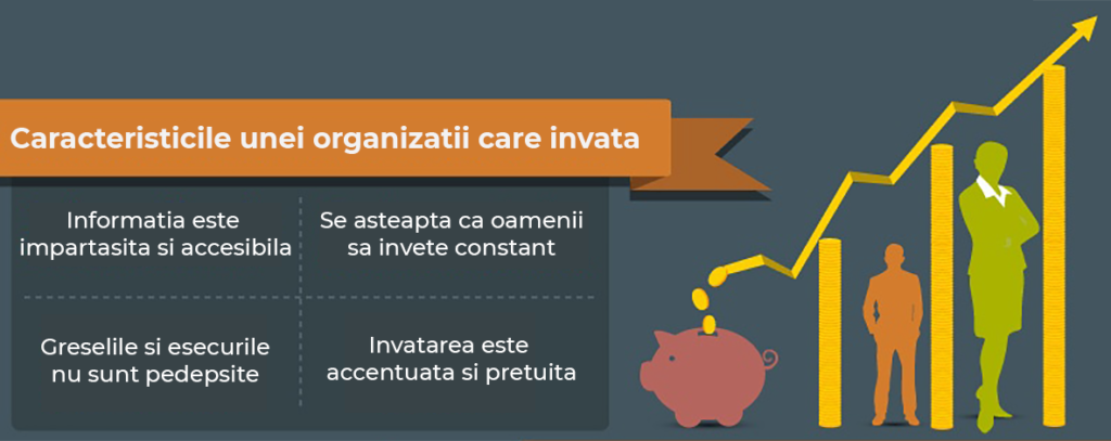 caracteristici learning organization